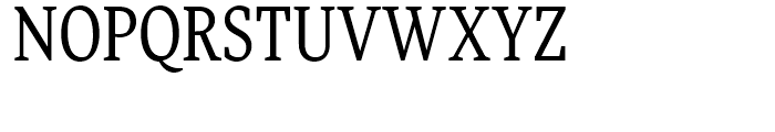 FF More Condensed Book Font UPPERCASE