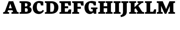 FF More Wide Black Font UPPERCASE