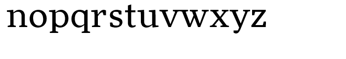 FF More Wide Book Font LOWERCASE