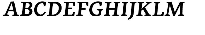 FF More Wide Medium Italic Font UPPERCASE