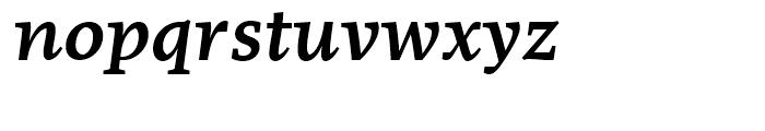 FF More Wide Medium Italic Font LOWERCASE