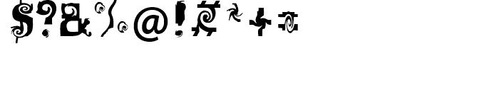FF Mulinex Regular Font OTHER CHARS