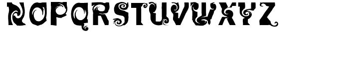 FF Mulinex Regular Font UPPERCASE