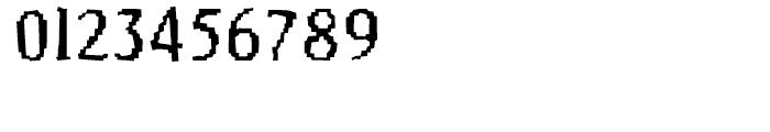 FF Murphy Regular Font OTHER CHARS