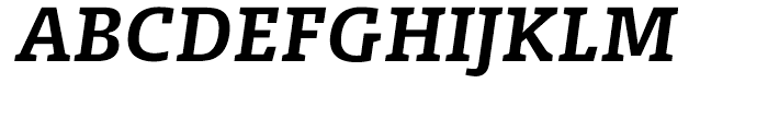 FF Olsen Bold Italic Font UPPERCASE