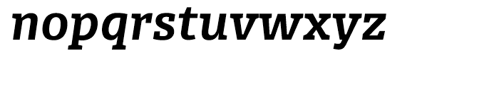 FF Olsen Bold Italic Font LOWERCASE