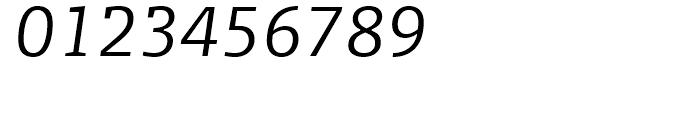 FF Olsen Light Italic Font OTHER CHARS