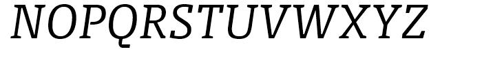 FF Olsen Light Italic Font UPPERCASE