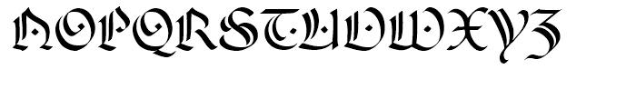 FF Ophelia Regular Font UPPERCASE