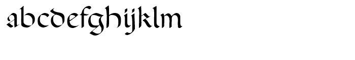 FF Ophelia Regular Font LOWERCASE