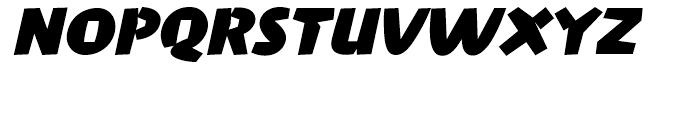 FF Penguin Bold Italic Font UPPERCASE