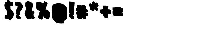 FF Prater Block Background Regular Font OTHER CHARS