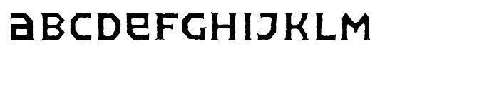 FF Pullman Old Regular Font UPPERCASE
