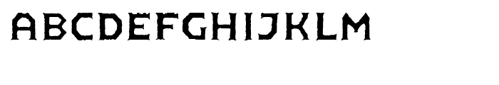 FF Pullman Old Regular Font LOWERCASE