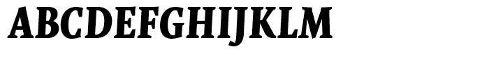 FF Quadraat Display Bold Italic Font UPPERCASE