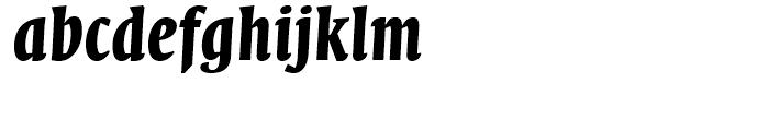 FF Quadraat Display Bold Italic Font LOWERCASE