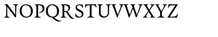 FF Quadraat Regular Font UPPERCASE