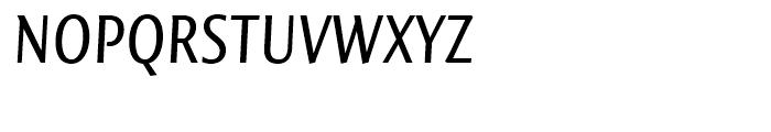 FF Quadraat Sans Condensed Regular Italic Font UPPERCASE