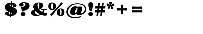 FF Quixo Black Font OTHER CHARS
