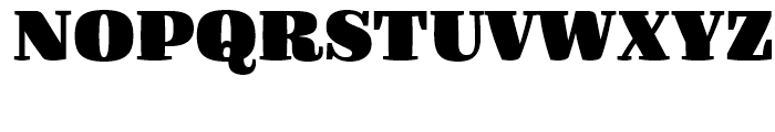 FF Quixo Black Font UPPERCASE