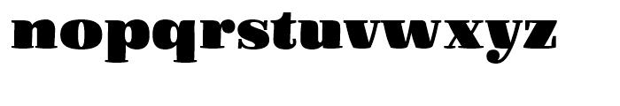 FF Quixo Black Font LOWERCASE