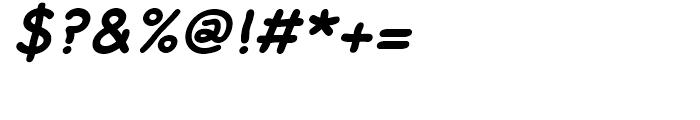 FF Rattlescript Bold Oblique Font OTHER CHARS