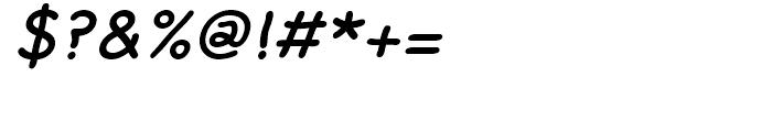 FF Rattlescript Medium Oblique Font OTHER CHARS