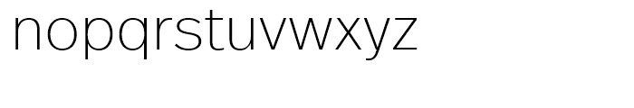 FF Real Head Extra Light Font LOWERCASE