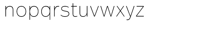 FF Real Text Ultra Light Font LOWERCASE
