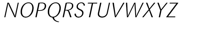 FF Sari Light Italic Font UPPERCASE