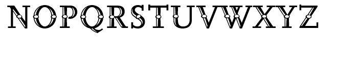 FF Scala Jewel Pearl Regular Font UPPERCASE