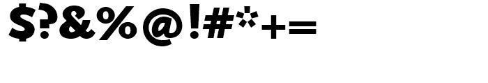 FF Scala Sans Black Font OTHER CHARS