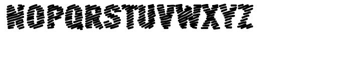 FF Scribble Scrawl Bold Font UPPERCASE