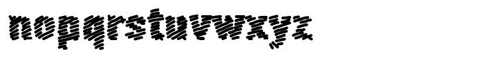 FF Scribble Scrawl Bold Font LOWERCASE