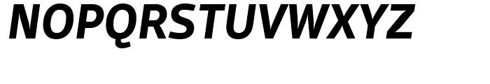 FF Scuba Bold Italic Font UPPERCASE