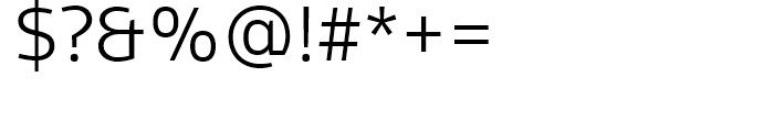 FF Scuba Light Font OTHER CHARS