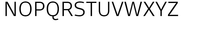 FF Scuba Light Font UPPERCASE