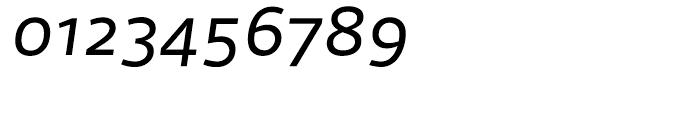 FF Scuba Regular Italic Font OTHER CHARS