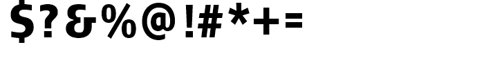 FF Signa Condensed Black Font OTHER CHARS