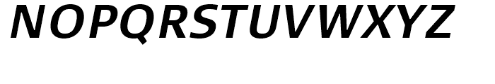 FF Signa Correspondence Bold Italic Font UPPERCASE