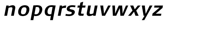 FF Signa Correspondence Bold Italic Font LOWERCASE