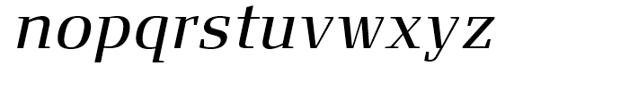 FF Signa Serif Book Italic Font LOWERCASE