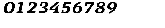 FF Signa Slab Bold Italic Font OTHER CHARS