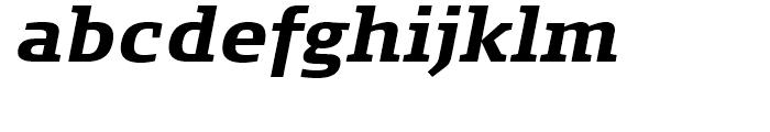 FF Signa Slab Bold Italic Font LOWERCASE