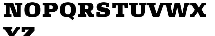 FF Signa Slab Extra Black Font UPPERCASE