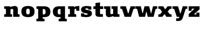 FF Signa Slab Extra Black Font LOWERCASE