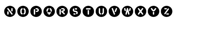 FF Snafu Decals Regular Font LOWERCASE