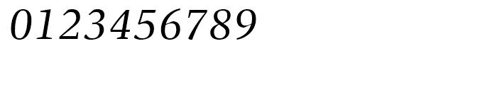 FF Spinoza Regular Italic Font OTHER CHARS