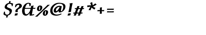 FF Tarquinius Bold Italic Font OTHER CHARS