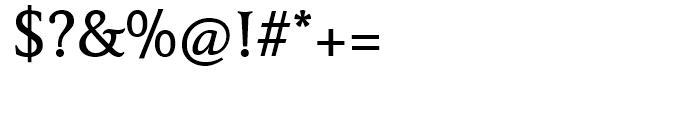 FF Tibere Medium Font OTHER CHARS